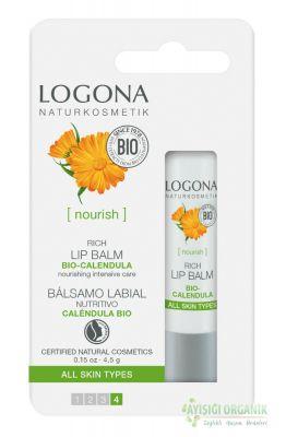 Logona Yoğun Dudak Balzamı Organik Altıncık Çiçeği Özlü