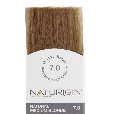 Naturigin Organik Saç Boyası Doğal Orta Sarı 7.0