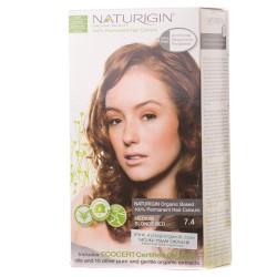 Naturigin - Naturigin Organik Saç Boyası Orta Sarı Kızıl 7.4
