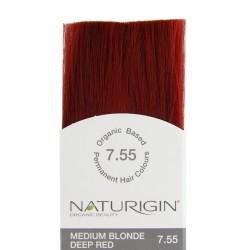 Naturigin Organik Saç Boyası Alev Kızılı 7.55 - Thumbnail