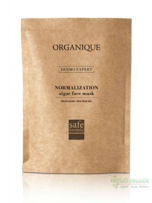 Organique Alg Yosun Yüz Maskesi - Tea Tree Yağlı ve Akneli Ciltler 30gr