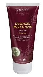 Sante - SANTE Organik Erkek Vücut ve Saç Duş Jeli (Aloe) 200ml