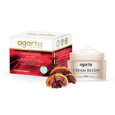 Agarta Doğal Yaşlanma Karşıtı anti Aging Reishi Özlü Krem 50 ML