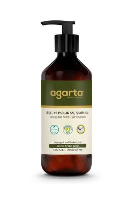 Agarta Güçlü ve Parlak Saçlar İçin Doğal Şampuan 400 ML