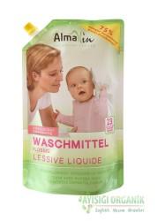 AlmaWin - Almawin Çamaşır Yıkama Sıvısı (Beyaz + Renkli) Plastik Torba 1,5lt
