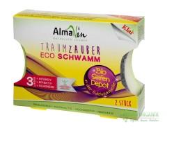 AlmaWin - Ekolojik 2 li Bulaşık Süngeri ve Leke Çıkarıcı Sabun 100gr