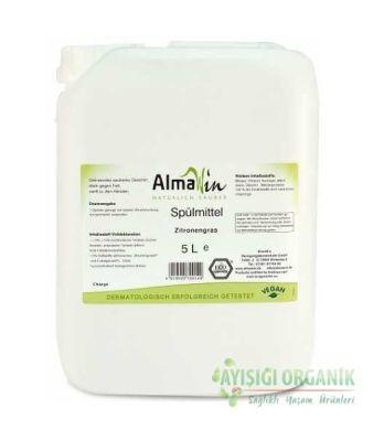 Almawin Organik Elde Bulaşık Yıkama Sıvısı Limon Kokulu 5lt