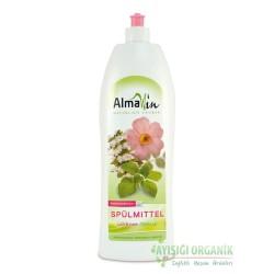AlmaWin - Almawin Organik Elde Bulaşık Yıkama Sıvısı (Yabangüllü ve Melisa Kokulu) 1L