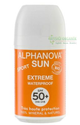 Alphanova Cilt için Sun Sport Waterproof Roll-on - SPF 50 Faktör