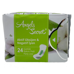 Angels Secret - Angels Secret Aktif Oksijen ve Negatif İyon Günlük Ped 1pk-24 adet