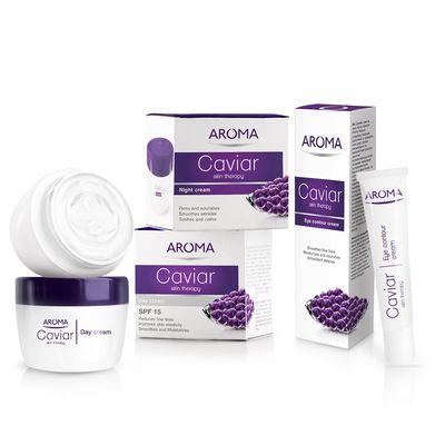 Aroma Havyarlı Cilt Terapisi Gündüz Kremi SPF15 50ML