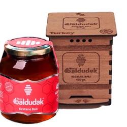 Baldudak - Baldudak Kestane Balı R-1300 450 Gr. (HAM BAL)