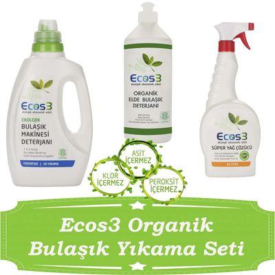 Ecos3 Organik Bulaşık Yıkama Seti