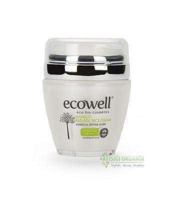 Ecowell Diamond Collection Ginkolu Yaşlanmaya Karşı Yüz Kremi