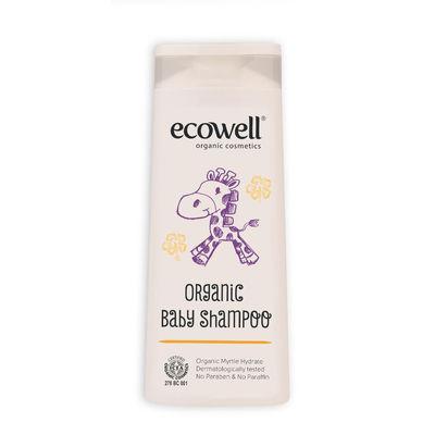 Ecowell Organik Bebek Saç ve Vücut Şampuanı