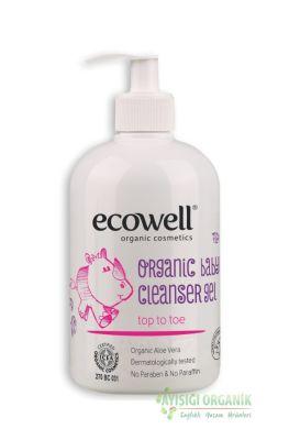 Ecowell Organik Bebek Temizleme Jeli
