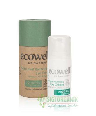 Ecowell Organik Canlandırıcı Göz Çevresi Kremi