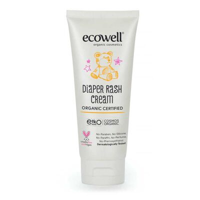 Ecowell Organik Çinko İçeren Bebek Pişik Kremi