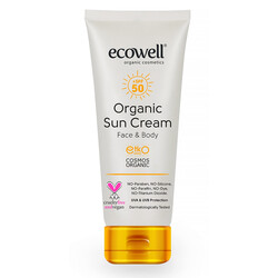 Ecowell - Ecowell Organik Güneş Kremi 50 SPF 110 Gr.