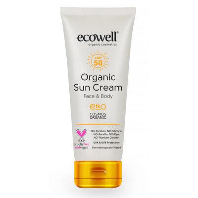 Ecowell Organik Güneş Kremi 50 SPF 110Gr.