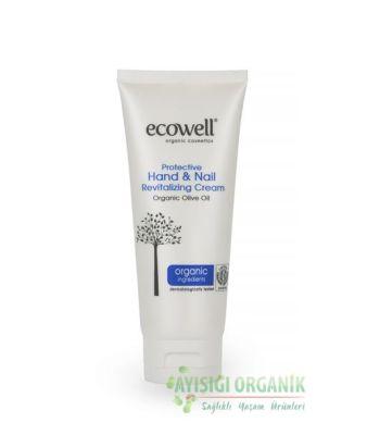Ecowell Organik Koruyucu Onarıcı El ve Tırnak Bakım Kremi