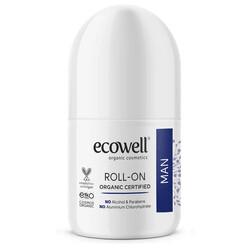 Ecowell - Ecowell Organik Roll-On Erkek 75ML