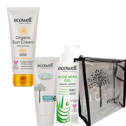 Ecowell - Ecowell Organik Yaz Bakım Seti