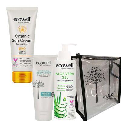 Ecowell Organik Yaz Bakım Seti