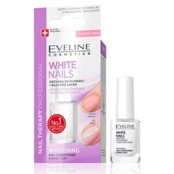Eveline - Eveline 3ü1arada Tırnak Yüzeyi Beyazlaştırıcı ve Pürüzsüzleştirici Baz 12ML
