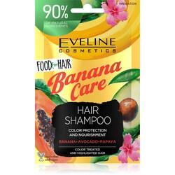Eveline - Eveline Boyalı veya Yıpranmış Saçlar için Besleyici Doğal Şampuan- Muz Bakımı 20 ml