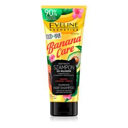 Eveline - Eveline Boyalı veya Yıpranmış Saçlar için Besleyici Doğal Şampuan- Muz Bakımı 250ML