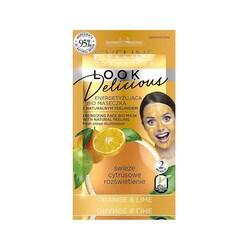 Eveline - Eveline Canlandırıcı Yüz Maske ve Peelingi Doğal Portakal-Lime 10ML