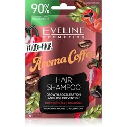 Eveline - Eveline Güçsüz ve Dökülen Saçlar için Doğal Şampuan- Kahve Aroması 20 ml