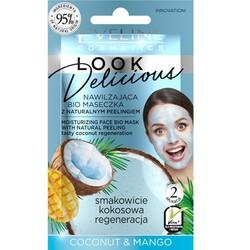 Eveline - Eveline Nemlendirici Doğal Yüz Maske ve Peelingi Hindistancevizi-Mango 10ML