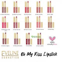 Eveline - Eveline OH MY KISS! Dudak Bakım Rujları – 14 Renk