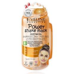 Eveline - Eveline Powershake Probiyotikli Besleyici Yüz Maske ve Peelingi 10ML