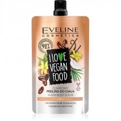 Eveline - Eveline Vanilyalı Latte Vegan Vücut Scrub-Peeling 75ML