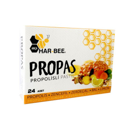 Har-Bee Propas Propolisli Pastil 60g 2 Paket