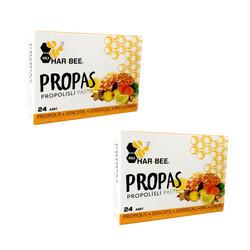 Har-Bee - Har-Bee Propas Propolisli Pastil 60g 2 Paket