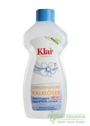 Klar - Klar Organik Kireç Çözücü Limon Asitli 500ml