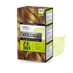 Kolora Zero - Kolora Zero Amonyaksız Krem Saç Boyası Altın Kumral 8.3