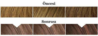 Kolora Zero Amonyaksız Krem Saç Boyası Amber Kahverengi 6.3