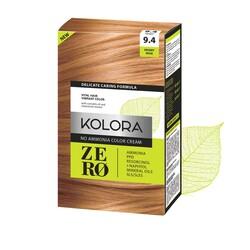 Kolora Zero - Kolora Zero Amonyaksız Krem Saç Boyası Çöl Gülü 9.4