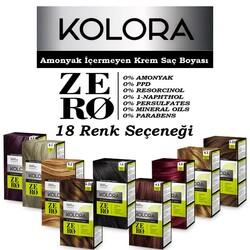 Kolora Zero - Kolora Zero Amonyaksız Krem Saç Boyası
