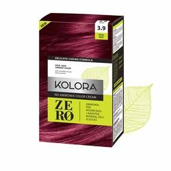 Kolora Zero - Kolora Zero Amonyaksız Krem Saç Boyası Yakut Kızılı 3.9