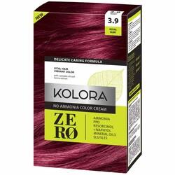 Kolora Zero Amonyaksız Krem Saç Boyası Yakut Kızılı 3.9 - Thumbnail