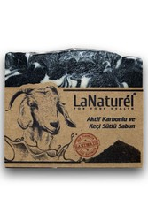 LaNaturel - LaNaturel Aktif Karbonlu Ve Keçi Sütlü Sabun 100 GR