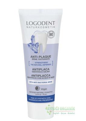 LOGODENT Organik Tuzlu Diş Macunu