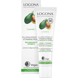 Logona - Logona 24 Saat Etkili Hücre Yenileyici Avokado ve E Vitamin Kremi 30ml