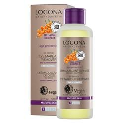 Logona - Logona Age Protection 2 Fazlı Göz Makyajı Temizleyicisi